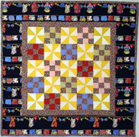 Cliffside Beach Club: Vintage Revisited, quilt 4