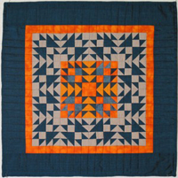 Odd Fellows Again: Vintage Revisited, quilt 2