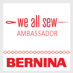 Bernina We All Sew Ambassador Badge